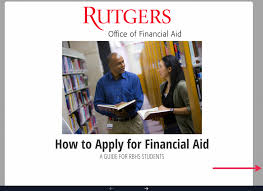 information for rbhs students office of financial aid rutgers