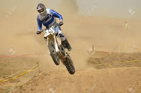 motocross bike race motocross bike in a race representing concept of speed and power
