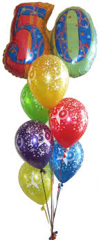 50th birthday balloons delivered birthday balloon bouquet ideas image inspiration of cake and