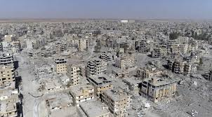 syria before and after shocking photos show bombed city of raqqa after liberation daily