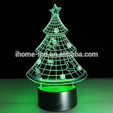 christmas tree shaped lights laser christmas lights tree shape 3d night light toys for kids buy