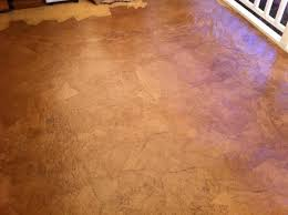 it s only a paper floor but you d believe it s wood planks