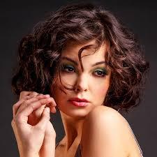 Frisuren Mittellange Haar Braun by Brauner Locken Bob Braune Kurze Und Mittellange Haare