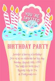 free birthday invitations free printable kids birthday party invitations templates vastuuonminun