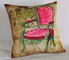 online buy wholesale royal chairs from china royal chairs 18 inch 45x45cm linen cotton cushion cover throw pillow case vintage royal chair stamp square car