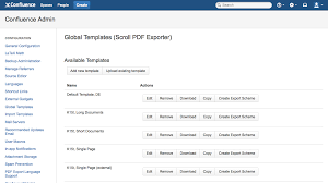 editing a template scroll pdf exporter