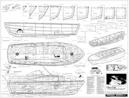 Free Wood Boat Plans Patterns by Chris Craft Constellation Model Boat And Sailboat Plans Classic