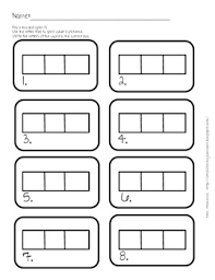 18 best images of elkonin box worksheets kindergarten cvc words