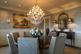 Awesome Dining Room Crystal Chandeliers Gallery Room Design - Dining room crystal chandelier