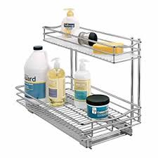 lynk under cabinet storage amazon com lynk professional roll out under sink cabinet organizer