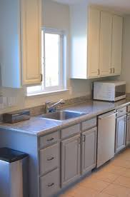 diy two tone kitchen painting kitchen cabinets galley kitchen