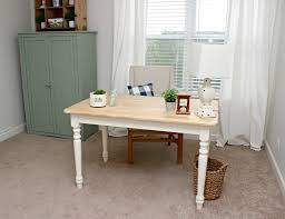 Craft Room Tables - office u0026 craft room reveal one room challenge delightfully noted