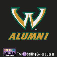 alumni decal wayne state bookstore colorshock alumni decal