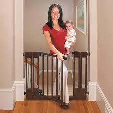summer deluxe top of stairs wood walk thru gate reviews best