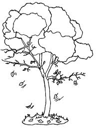 9 best images of autumn fall tree coloring page autumn tree