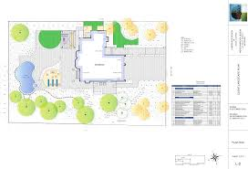 Landscape Floor Plan by Meadowbrook Designmeadowbrook Landscape Design Walnut Creek