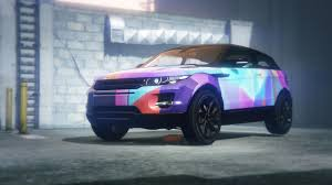 Range Rover Evoque Abstract Livery Gta5 Mods Com