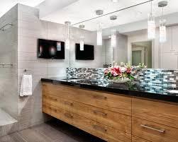 oak bathroom cabinets houzz