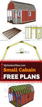 step by step plans for building a small cabin with front porch and