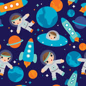 space wrapping paper space shuttle fabric wallpaper gift wrap spoonflower