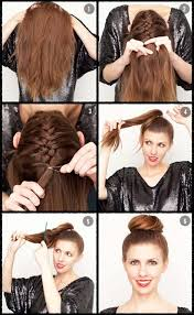 step by step womens hair cuts bun hairstyles for your wedding day with detailed steps and