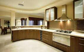 small kitchen interiors design ideas of modular small kitchen with brown color wooden
