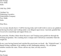 download sample farewell letter to boss for free tidyform