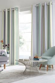 Pastel Coloured Curtains Striped Curtains Striped Eyelet Curtains Next Official Site