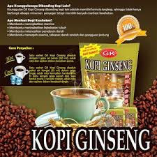 Daftar Ginseng Korea sell gk ginseng coffee from indonesia by cv karya putra mandiri
