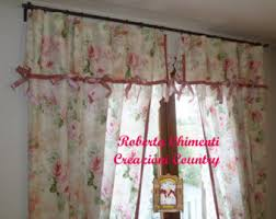 Shabby Chic Valance by Romantic Curtains Etsy