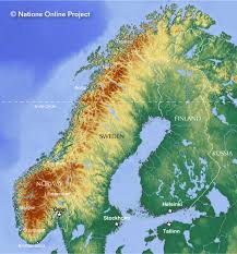 Scandinavia On Map Map Of Norway Nations Online Project