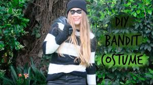 diy bandit costume super easy youtube