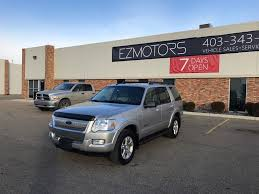 2008 used ford explorer sport utility no accident at ez motors
