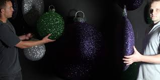 Window Display Christmas Decorations Uk by Christmas Display Baubles Giant Medium And Small Manufactured