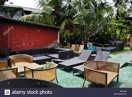 Bali Wicker Outdoor Furniture by Weather Resistant Plastic Rattan Furniture Sanur Denpasar Bali