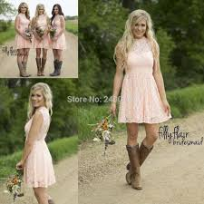 Popular Ruffle Halter Neck Bridesmaid Dress Buy Cheap Ruffle