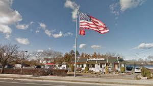 Flying The Us Flag Upside Down Islip Mcdonald U0027s Employees Mistakenly Hang Inverted American Flag