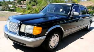 mercedes for sale by owner 1986 mercedes 560sel 1 owner w126 sedan for sale export