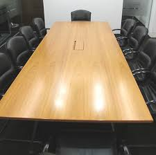 10 x 4 conference table medamorph teak designer boardroom conference table 10 x giroflex chairs