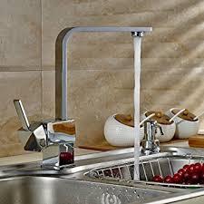 mitigeur pour cuisine auralum robinet mitigeur carré pour cuisine design élégant en