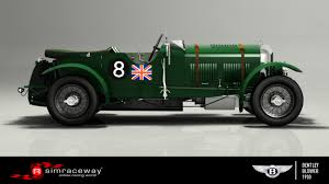 bentley racing green simraceway bentley 4 1 2 litre u0027blower u0027