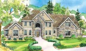 Brick House Plans Prissy Design 5 2 Story House Plans European Brick Houses With