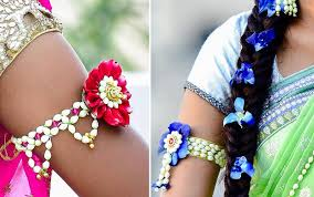 flower necklace wedding images Floral jewelry for your wedding celebrations weddingsutra blog jpg