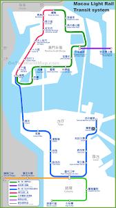Las Vegas Transit Map by Macau Light Rail Transit System Map