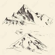 best 25 mountain sketch ideas on pinterest mountain drawing