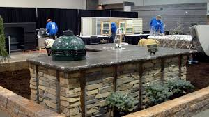 install in a big green egg outdoor kitchen m4n patio collection
