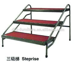 free standing modular fixed height stage access stair units