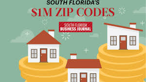 Ft Lauderdale Zip Code Map by South Florida Zip Codes With The Most 1m Homes In 2017 According
