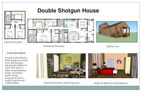 Shotgun House Design Portfolio