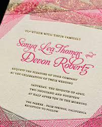 wedding stationery glossary martha stewart weddings